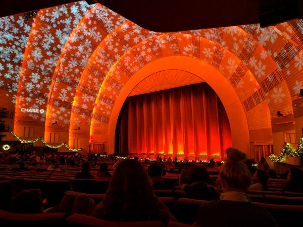 Waiting for The Rockettes. Photo by Kelsey Nelson