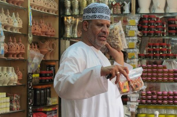 Our last port before heading into the troubled waters of the Gulf of Aden, Salalah, Oman, we stopped to buy some Frankincense. Photo by Carol L. Bowman Piracy Red Zone