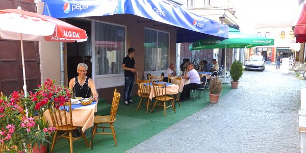 Travel in Bitola, Macedonia offers good food.