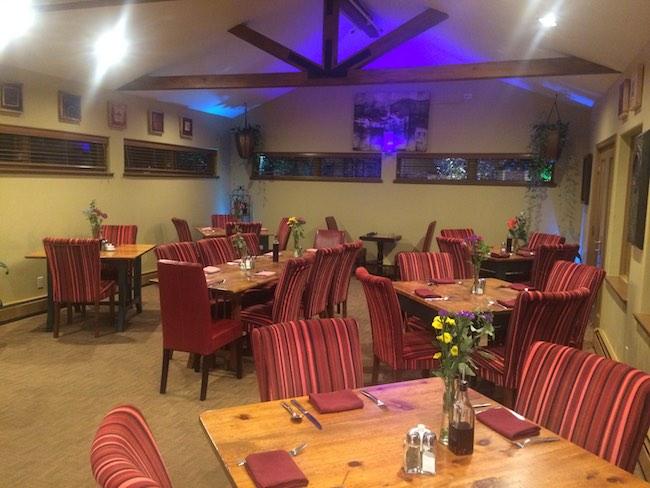 Dining Room, photo courtesy of Frisco Inn on Galena