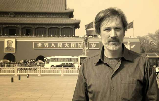 Author Eric. D. Goodman in China