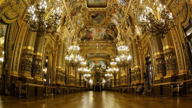 Grand Foyer at Opera Garnier