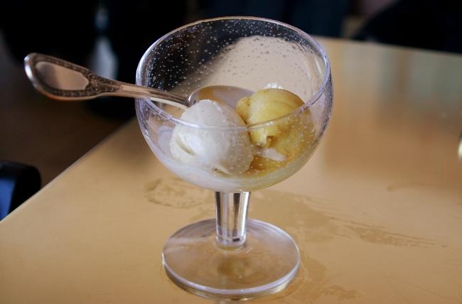 Ice cream at Versailles