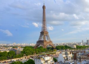 Best Eiffel Tower Hotel Room View? Has to be the Shangri-La Paris
