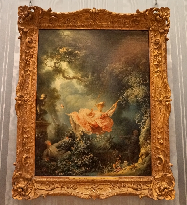 The Swing by Fragonard