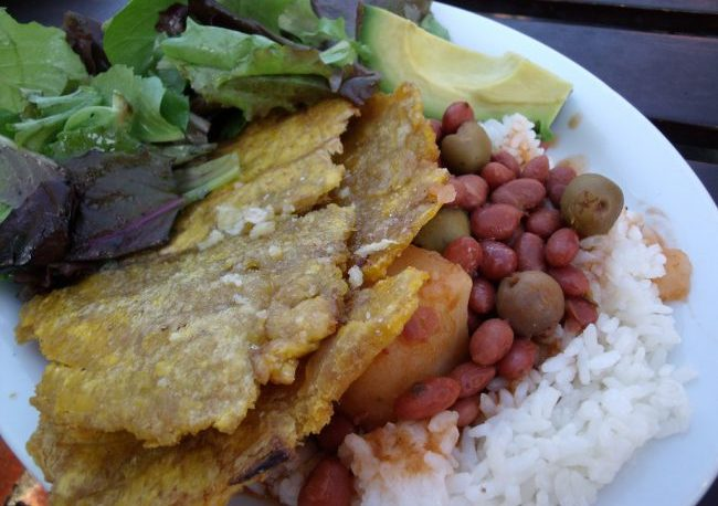 Puerto Rican cuisine at Sol Food in San Rafael, CA. Flickr/Sharon