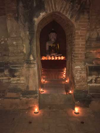 Candle lighting ceremony. Photo by Sherrill Bodine