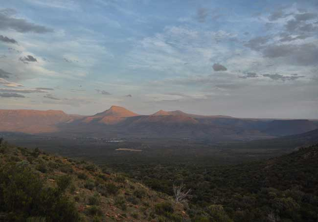 On safari in the region of South Africa known as the Great Karoo. Photo by Imogene Robinson