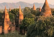 The Bagan Plain in Myanmar. Photo by Sherrill Bodine
