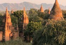 The Bagan Plain in Myanmar. Photo by Sherrill Bodine