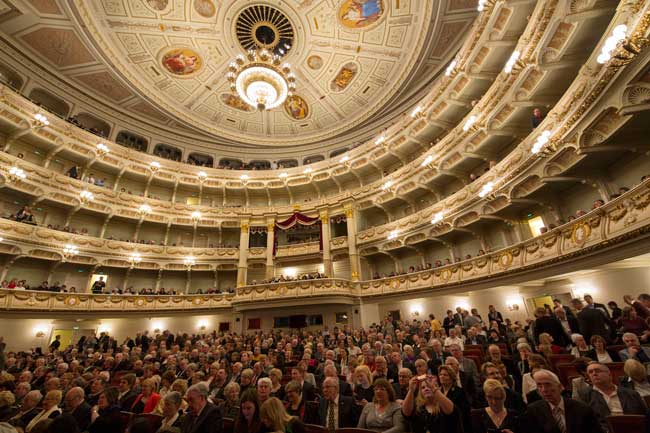 The Semper Opera in Dresden, Germany. Photo by Klaus Gigga
