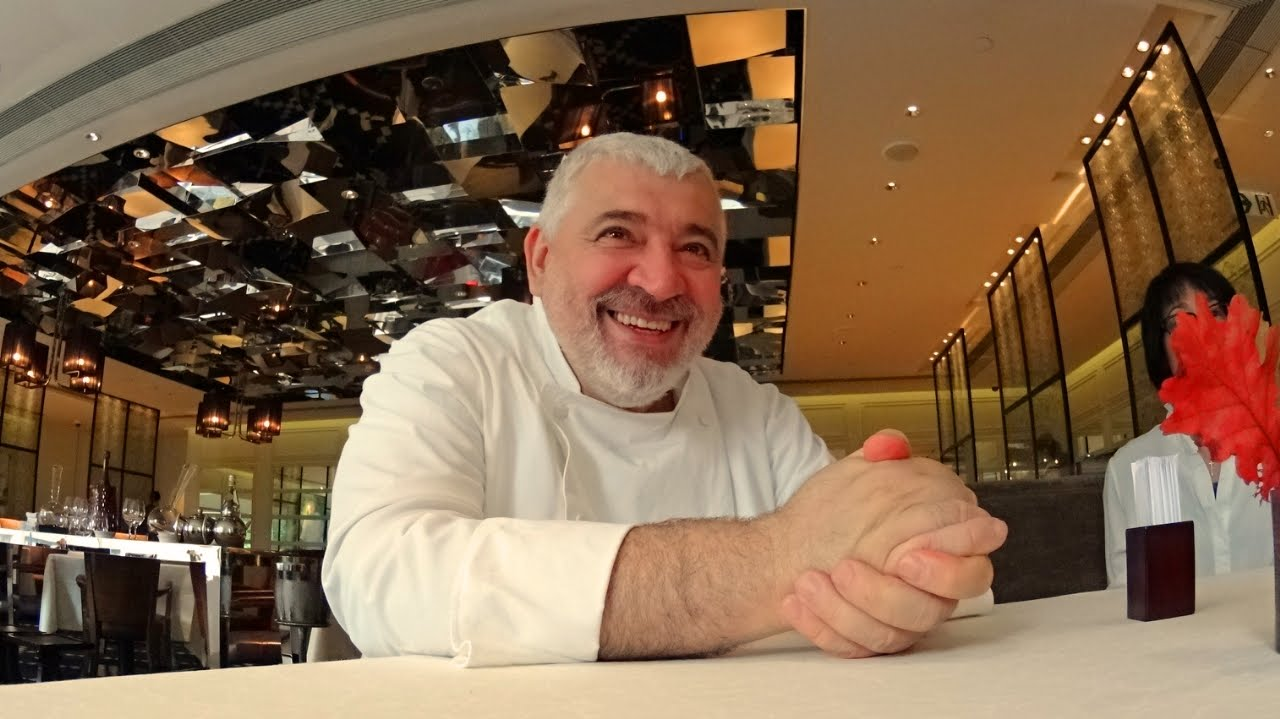 Interview with Chef Umberto Bombana of Hong Kong's 8 1/2 Otto e Mezzo