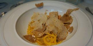 Shaved truffle pasta Otto e Mezzo