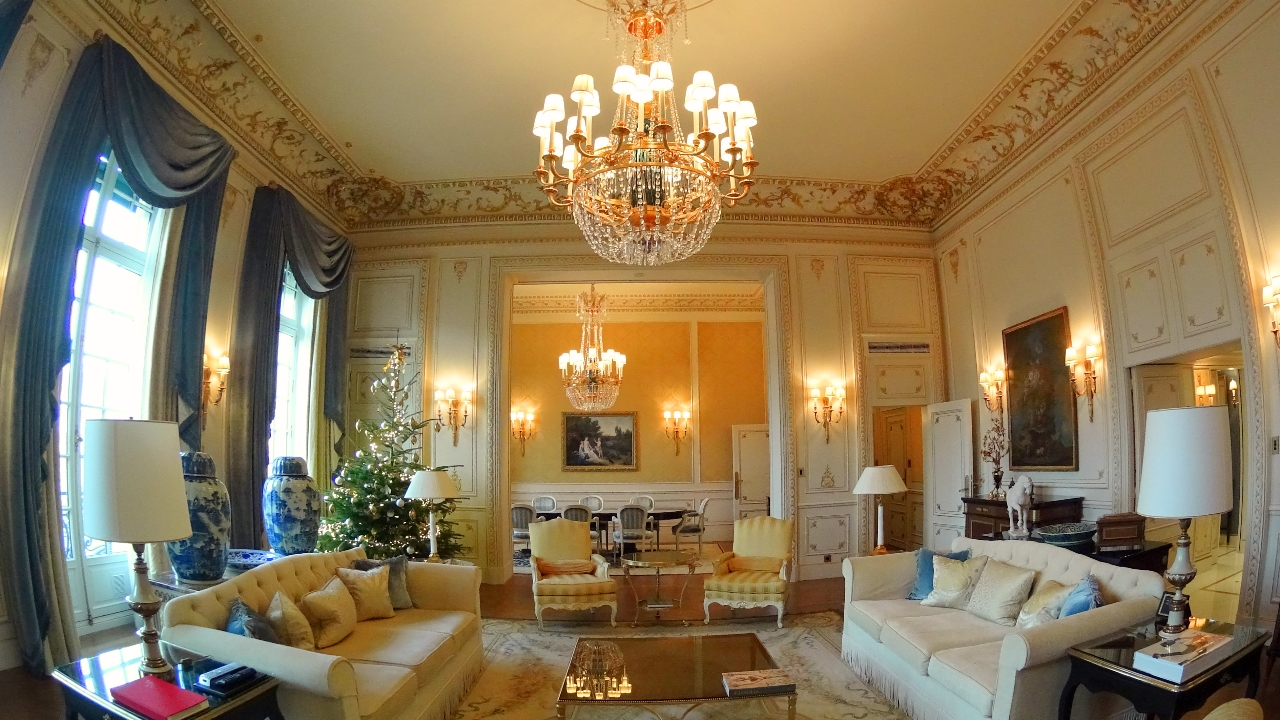 IMperial Suite at Shangri-La Paris