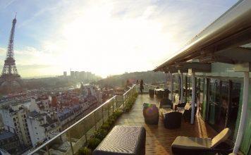 Shangri-La Paris terrace