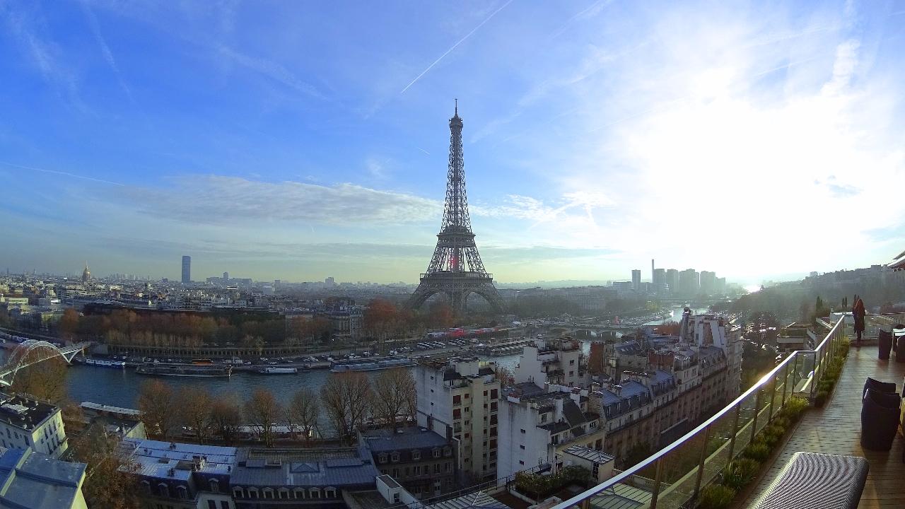 Shangri-La Paris view