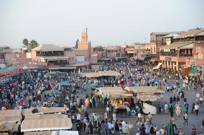 Travel Marrakech, Morocco. Photo by Moroccan National Tourist Office