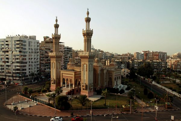 Port Said Mosque. Photo by Flickr/Enrico Strocchi