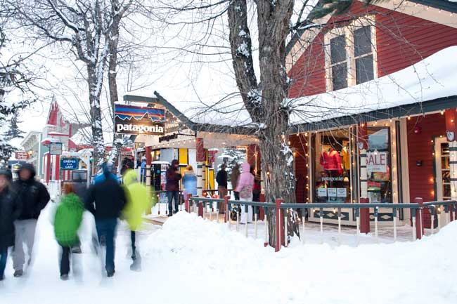 Breckenridge is a family-friendly ski destination.