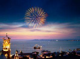 Fireworks at night. Photo by Fyllis Hockman