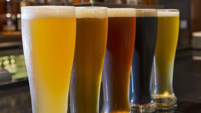 Colorado Beers. Photo courtesy of Grand Hyatt Denver