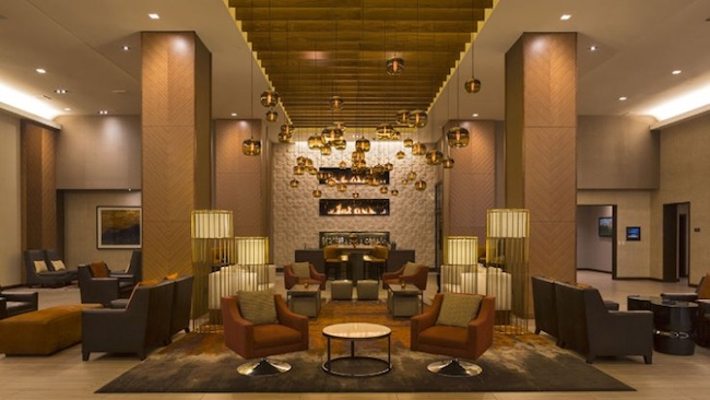 Grand Hyatt Denver lobby and bar. Photo courtesy of Grand Hyatt Denver