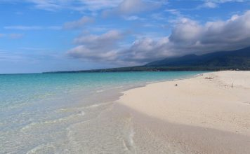 Beach at Camiguin Island. Photo by Wenche Thorkildsen