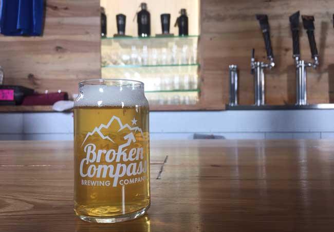 Broken Compass Brewing in Breckenridge. Photo by Janna Graber