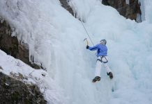 Travel Marketing for Adventure Travel Brands - Ice climbing for the first time in Ouray, Colorado.
