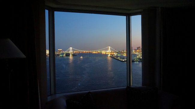 Rainbow Bridge view in Tokyo