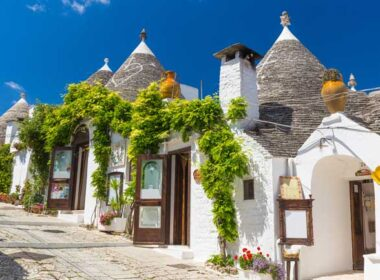 UNESCO-listed Alberobello features no fewer than 1,500 beehive houses.