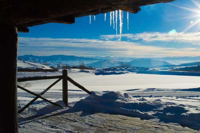 Gorgeous scenery at Latigo Ranch in Colorado. Photo by Mark Rush