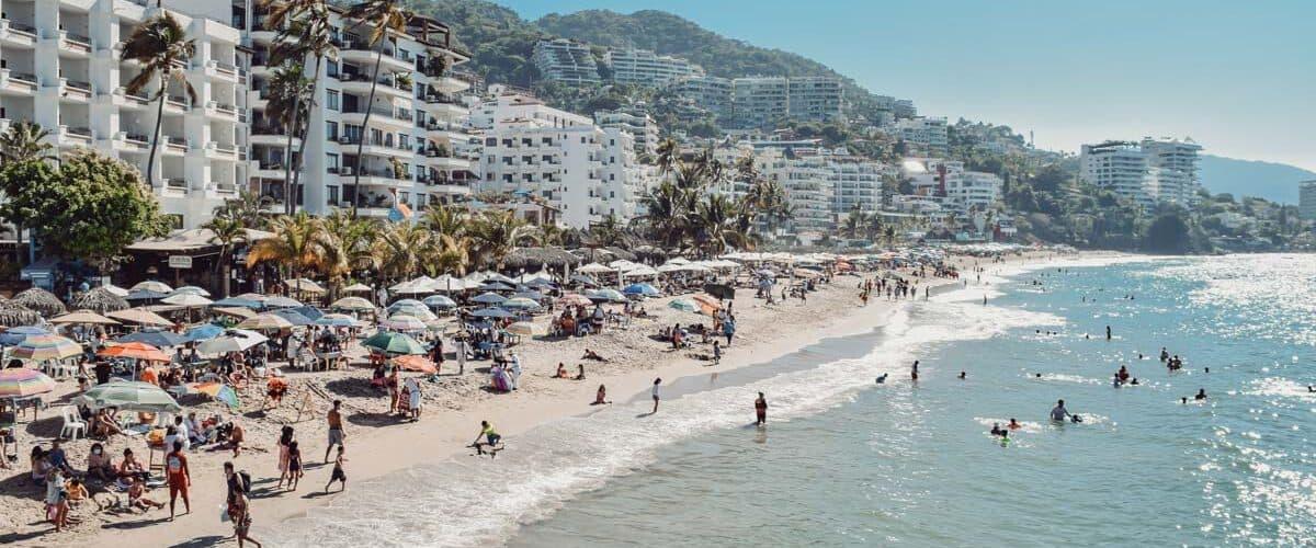 Beach resorts in Puerto Vallarta, Mexico