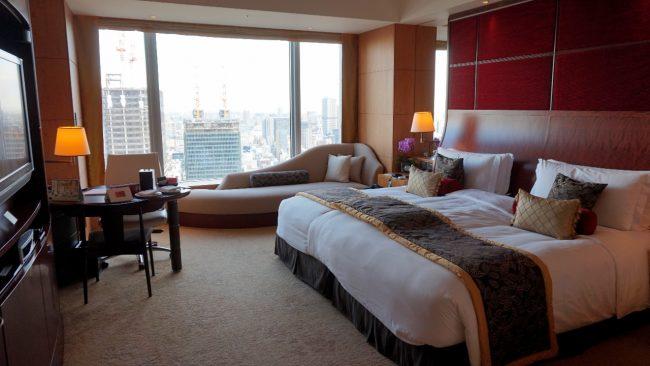 Horizon Club room at Shangri-La Tokyo
