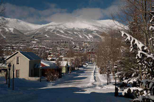 Downtown Breckenridge, Colorado. Credit: Bob Winsett/Breckenridge Tourism Office