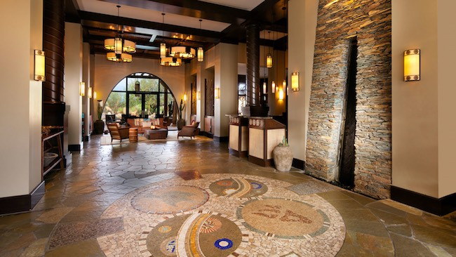 Lobby of Aji Spa. Photo courtesy of Sheraton Grand at Wild Horse Pass