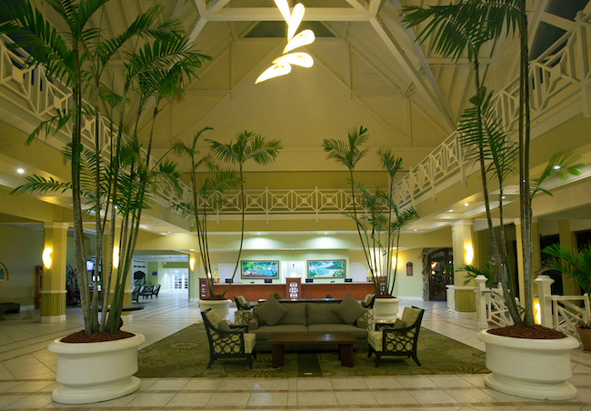 Lobby of Magdalena Grand. Photo courtesy of Magdalena Beach & Golf Resort