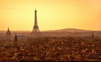 Paris at sunset. Flickr/Moyan Brenn