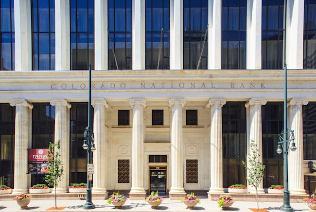Renaissance Denver Downtown Hotel Occupies Historic Bank Building on Landmark Site
