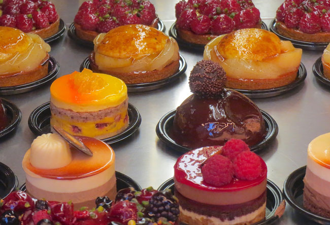 French pastries and desserts in Paris. Flickr/John Mason