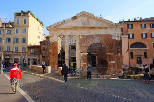Jewish Ghetto area of Rome