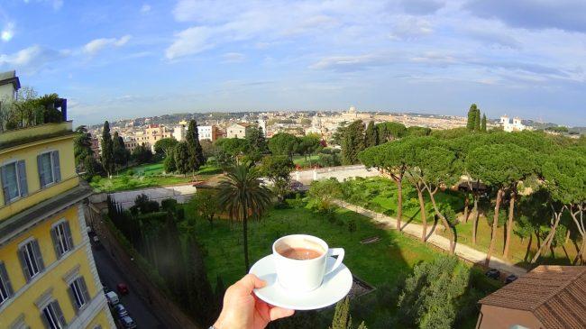 Sofitel Rome view