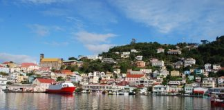 The colors of Grenada. Photo by Julie Bielenberg