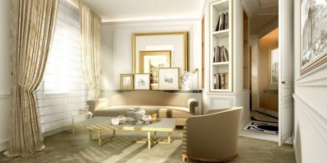 Hotel Eden Suite living room