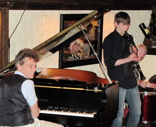 Kansas City jazz players. Photo by Bruce N. Meyer