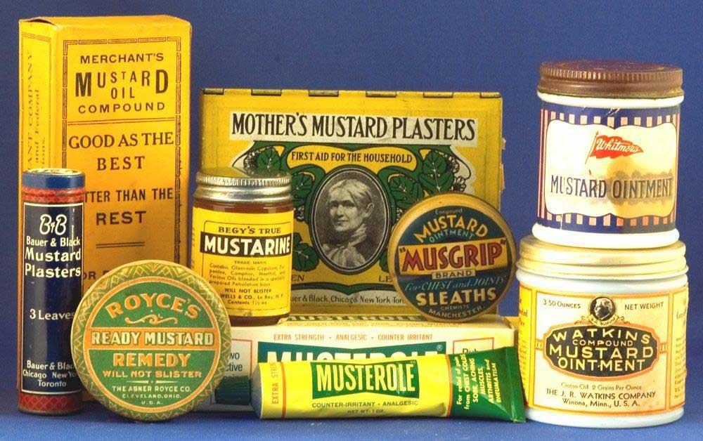 An exhibit at the National Mustard Museum. Photo by National Mustard Museum