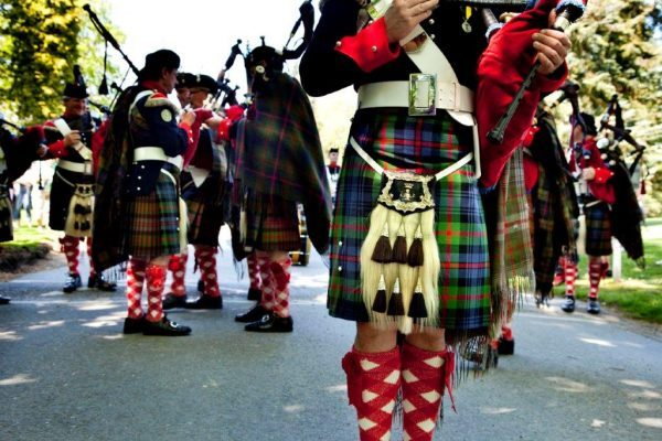 Scottish Tartans. Photo courtesy of Visit Scotland