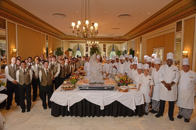 Staff at the Lake Terrace Dining Room. Photo courtesy of The Broadmoor