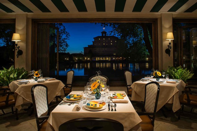 Ristorante al Lago. Photo courtesy of The Broadmoor