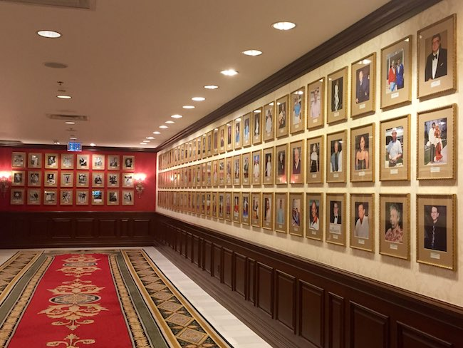 Gallery of all the famous people who have visited The Broadmoor. Photo by Claudia Carbone